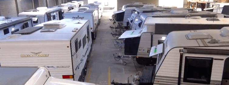 Search in comfort at canterbury caravan's new dealership